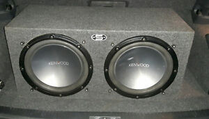 "2 12"" kenwood subs, Alpine mrp-500 amp"