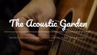 Guitar Instruction for 55+ Adults - The Acoustic Garden!