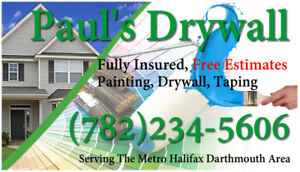 Paul's Drywall Service ( Painting , Taping , Drywall ) Painter