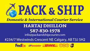 Cheapest Courier Service in EDM for Domestic & International Edmonton Edmonton Area image 1