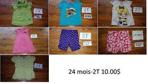 Vetements 24 mois-2T fille