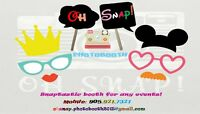 Oh SNAP Photobooth - SNAPtastic Photo Booth for any events!