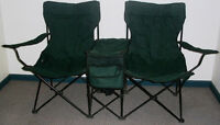 Camping Love Seat and Table