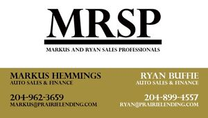 MRSP Auto Sales & Finance - Credit Solutions