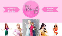 Your Princess Pal Parties and Events