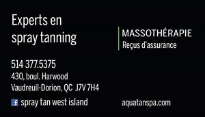 SPRAY TANNING by PROFESSIONNAL ARTIST West Island Greater Montréal image 10