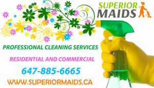 OFFICE/COMMERCIAL/RESIDENTIAL CLEANING IN MISSISSAUGA,BRAMPTON