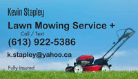 Kevin Stapley Lawn Mowing Service +.   grass,cutting, lawn, care