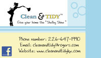 Clean & Tidy - Cleaning