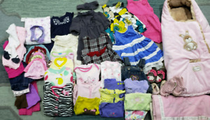 Baby girl clothing lot 0-12 months