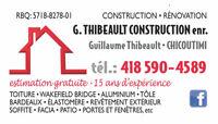 Expert en toiture et finition extérieure