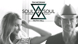 Two Tim McGraw and Faith Hill Tickets