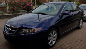 2004 Acura TSX LOWEST MILEAGE, only 105000 Kms, Well Maintained.