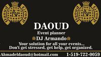 Event Planner-DJ Arabic & English