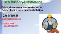 DES Masonry&Restoration