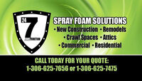 Now offering Sprayfoam Insulation