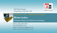 Computer Repair and Software Consulting A+ Certified