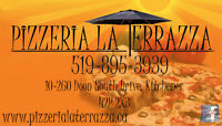 Pizzeria La Terrazza is now hiring!