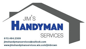 Jim's Handyman Services Kingston Kingston Area image 1