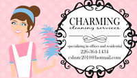 CHARMING PROFESSIONAL CLEANING SERVICES RESIDENTIAL & OFFICE