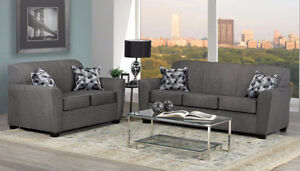 HOMETOWN- Canadian Made Comfy 3PC Sofa Set