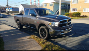 2015 DODGE POWER RAM 1500 SLT WITH BOSS PLOW