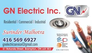 MASTER ELECTRICIAN :  RESIDENTIAL/ COMMERCIAL / INDUSTRIAL