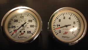 Tachometer and Speedometer for Lund Boat