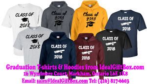 Graduation Gear - custom gear with your own design and messages