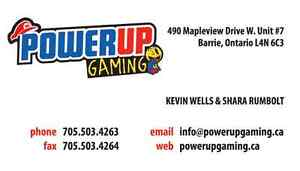 Power Up Gaming - Retro Video Game Superstore!