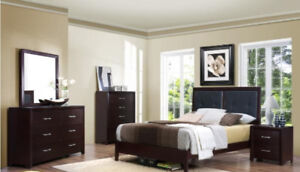 Brand new 7 pcs complete queen bedroom set $1148+FREE DELIVERY!!