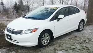 2012 Honda Civic LX 12Month or 12000KM Lubrico Warranty INCLUDED