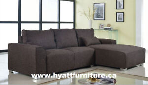 Brand new Fabric Sectional Sofa only $398