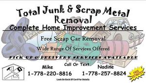 Total Junk & Scrap Metal Removal