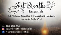 LOCAL HANDMADE Products made with Essential oils.