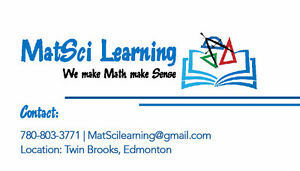 MatSci Learning - We make Math make Sense Edmonton Edmonton Area image 1