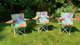 Kids outdoor chairs x 2