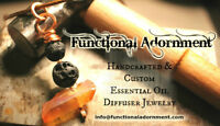 Essential Oil Jewelry - Handcrafted & Custom Designs