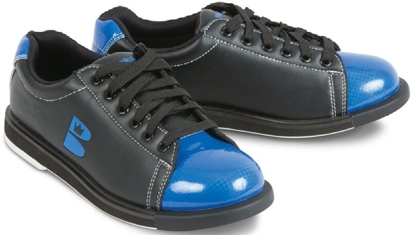 Купить Mens Brunswick TZone Bowling Shoes Black Blue Sizes 5-15 на ... ae49d87413c