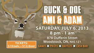 STAG and DOE TICKETS - 500 FULL COLOUR only $80!! Cambridge Kitchener Area image 3