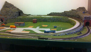 Train layout for Sale