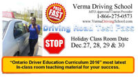 Defensive Driver Training: In-Car training.