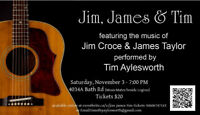Jim, James and Tim Concert