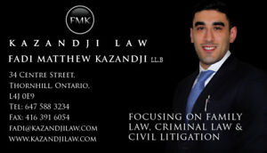 Family Law Lawyer | Free Consultation | ( 647) 588 - 3234