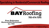 BAY Roofing - North Bay's #1 Crew!