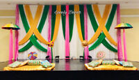 """Ladysangeet,jago ,home &tent decor by """"lovely decor""""6473394710"""