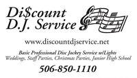 Discount DJ Service Any Events Disc Jockey DJ