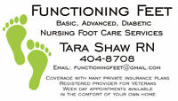 In-Home Foot Care by Registered Nurse – Dartmouth