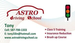 Astro driving school $425 full course!!!