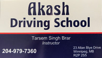 Class 5 Driving Lessons (Akash Driving School)